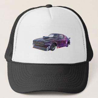 2016 Galaxy Purple Muscle Car Trucker Hat