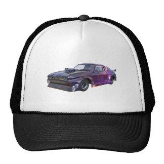 2016 Galaxy Purple Muscle Car Trucker Hat