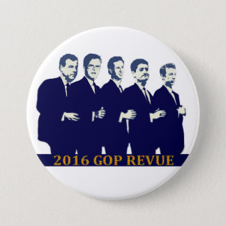 2016 GOP Presidential contenders 3 Inch Round Button