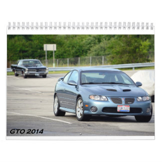 2016 GTO Calendar