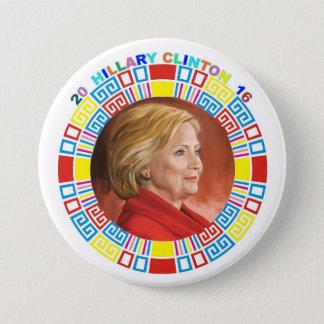 2016 Hillary Clinton 3 Inch Round Button
