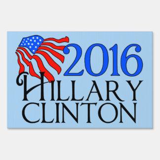 2016 Hillary Clinton Modern Sign