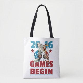 2016 - Let the Games Begin Tote Bag