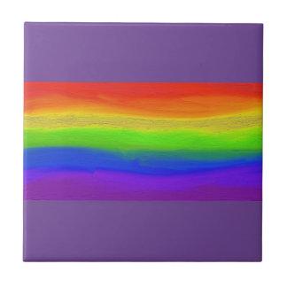 2016 LOVE = LOVE Rainbow Ceramic Tile