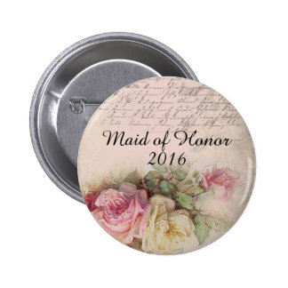 2016 Maid of Honor Button