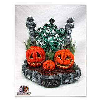2016 MD Exclusives Cemetery Pumpkins PhotoPrint Photo Print