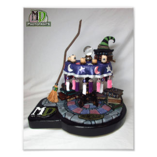 2016 MD Exclusives Witch Table PhotoPrint Photograph