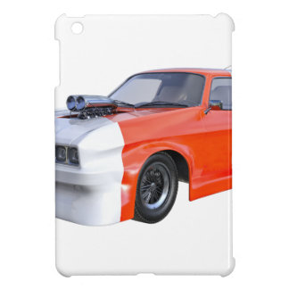 2016 Orange and White Muscle Car Cover For The iPad Mini