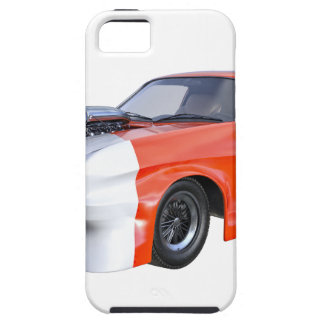 2016 Orange and White Muscle Car iPhone 5 Cases