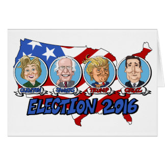 2016 Presidential Election Card