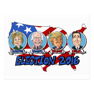 2016 Presidential Election Postcard