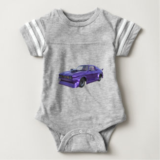 2016 Purple Muscle Car Baby Bodysuit