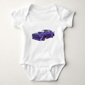 2016 Purple Muscle Car Baby Bodysuit