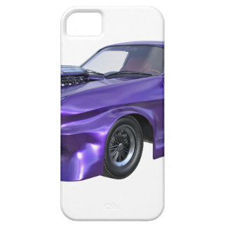 2016 Purple Muscle Car Case For The iPhone 5