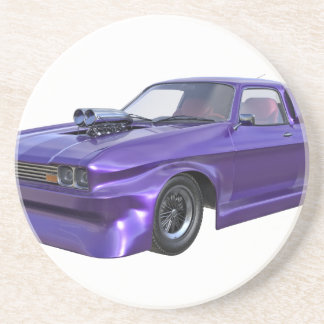 2016 Purple Muscle Car Coaster