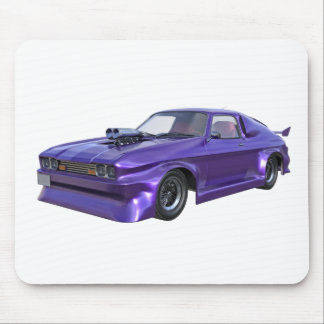 2016 Purple Muscle Car Mouse Pad