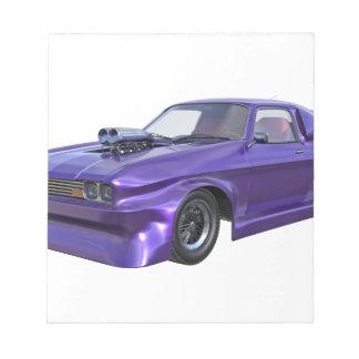2016 Purple Muscle Car Notepads