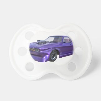 2016 Purple Muscle Car Pacifier