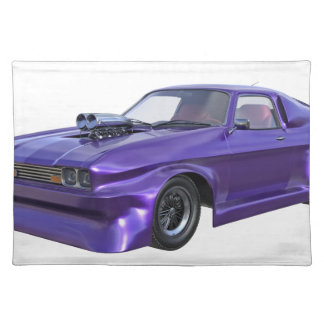 2016 Purple Muscle Car Placemat