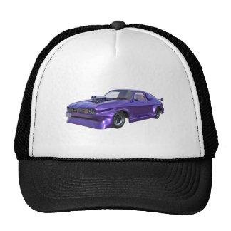 2016 Purple Muscle Car Trucker Hat