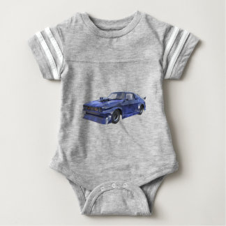 2016 Star Blue Muscle Car Baby Bodysuit