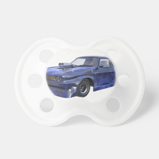 2016 Star Blue Muscle Car Baby Pacifier