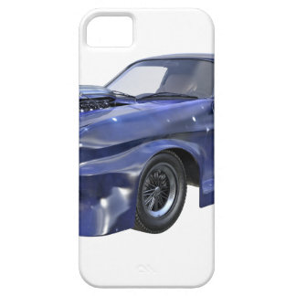 2016 Star Blue Muscle Car Case For The iPhone 5