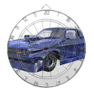 2016 Star Blue Muscle Car Dartboard