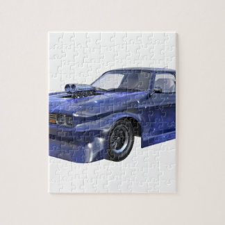 2016 Star Blue Muscle Car Jigsaw Puzzle