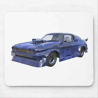 2016 Star Blue Muscle Car Mouse Pad