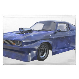 2016 Star Blue Muscle Car Placemat