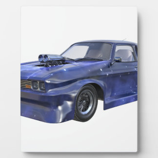 2016 Star Blue Muscle Car Plaque