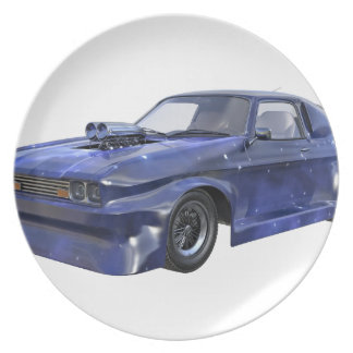 2016 Star Blue Muscle Car Plate