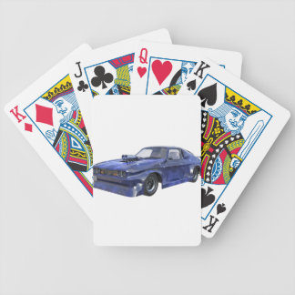 2016 Star Blue Muscle Car Poker Deck