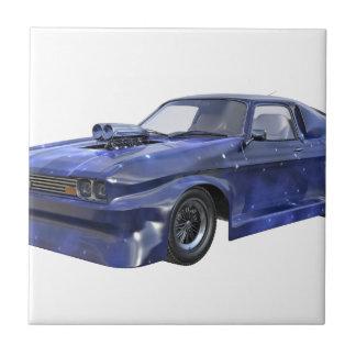 2016 Star Blue Muscle Car Tile