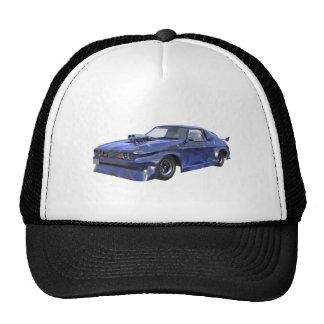 2016 Star Blue Muscle Car Trucker Hat