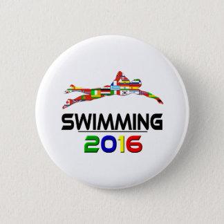2016:Swimming 2 Inch Round Button