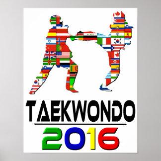 2016:Taekwondo Poster