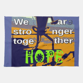 2016 US election Hillary Clinton hope Stronger Tog Hand Towel