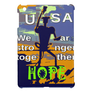 2016 US election Hillary Clinton hope Stronger Tog iPad Mini Covers