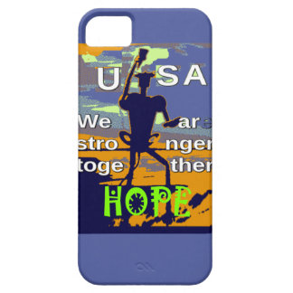 2016 US election Hillary Clinton hope Stronger Tog iPhone 5 Covers