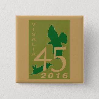 2016 Visalia 2 Inch Square Button