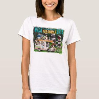 2016 Walk for Animals Women's Custom T-Shirt