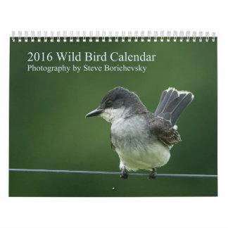 2016 Wild Bird Calendar