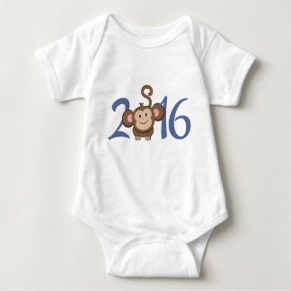 2016 Year of the Monkey Baby Bodysuit