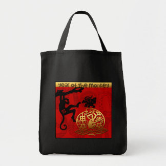 2016 Year of The Monkey Chinese New Year Tote Bag