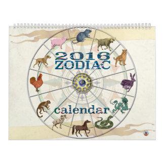 2016 Zodiac Calendar