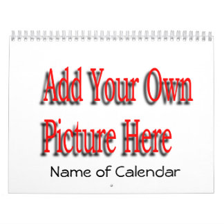 2017 Add Your Pictures Calendar & YEAR Needed