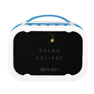2017 American Total Solar Eclipse Lunch Box