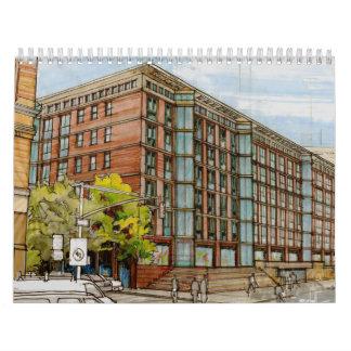 2017 Architectural Rendering Calendar
